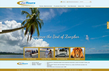 zantours-website